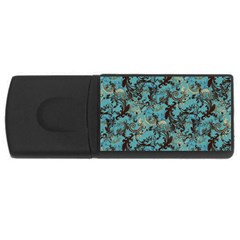 Vintage Wallpaper 1GB USB Flash Drive (Rectangle)