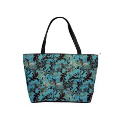 Vintage Wallpaper Large Shoulder Bag