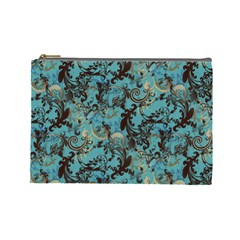 Vintage Wallpaper Cosmetic Bag (Large)
