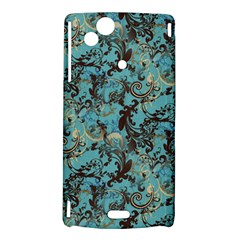 Vintage Wallpaper Sony Xperia Arc Hardshell Case