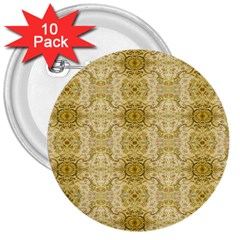 Vintage Wallpaper 3  Button (10 pack)