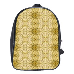 Vintage Wallpaper School Bag (Large)