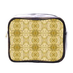Vintage Wallpaper Mini Travel Toiletry Bag (One Side)