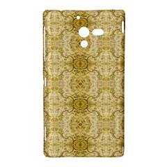 Vintage Wallpaper Sony Xperia ZL L35H Hardshell Case