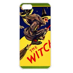 Witch Apple iPhone 5 Seamless Case (White)