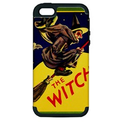 Witch Apple iPhone 5 Hardshell Case (PC+Silicone)
