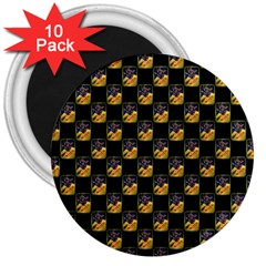 Witch 3  Button Magnet (10 pack)