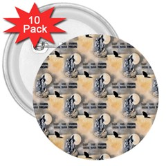 Witch 3  Button (10 pack)
