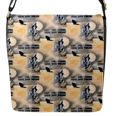 Witch Flap closure messenger bag (Small)