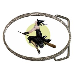 The Modern Witch Belt Buckle (Oval)