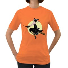 The Modern Witch Womens' T-shirt (Colored)