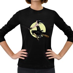 The Modern Witch Womens' Long Sleeve T-shirt (Dark Colored)
