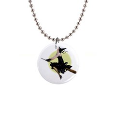 The Modern Witch Button Necklace