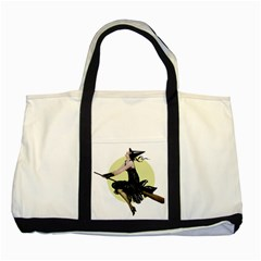 The Modern Witch Two Toned Tote Bag