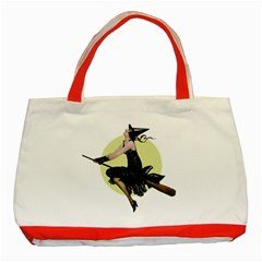 The Modern Witch Classic Tote Bag (Red)