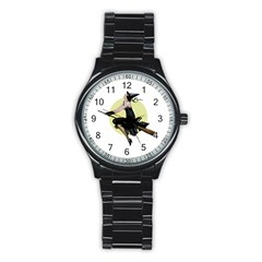 The Modern Witch Sport Metal Watch (Black)