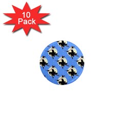 Witch 1  Mini Button Magnet (10 pack)