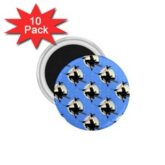 Witch 1.75  Button Magnet (10 pack)
