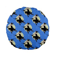 Witch 15  Premium Round Cushion