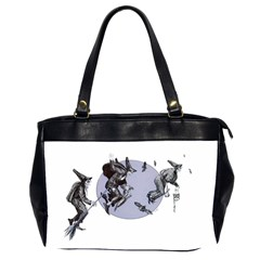 Witches Oversize Office Handbag (Two Sides)