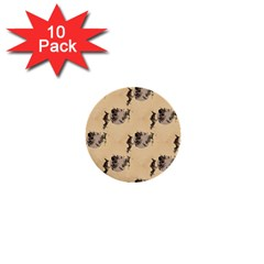 The Witches Flight  1  Mini Button (10 pack)