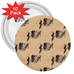The Witches Flight  3  Button (10 pack)