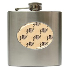 The Witches Flight  Hip Flask