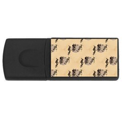 The Witches Flight  2GB USB Flash Drive (Rectangle)