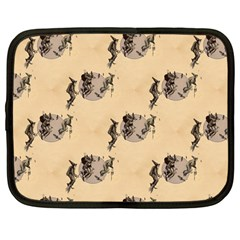 The Witches Flight  Netbook Case (Large)