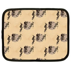 The Witches Flight  Netbook Case (XL)