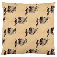 The Witches Flight  Large Cushion Case (Two Sides)