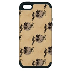 The Witches Flight  Apple iPhone 5 Hardshell Case (PC+Silicone)
