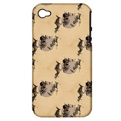 The Witches Flight  Apple iPhone 4/4S Hardshell Case (PC+Silicone)