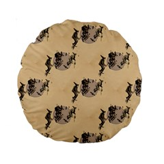 The Witches Flight  15  Premium Round Cushion