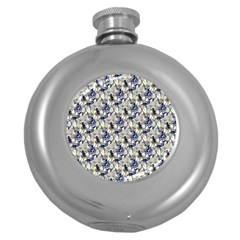 The Witches Dance Hip Flask (Round)