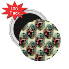 Alice In Wonderland 2.25  Button Magnet (100 pack)