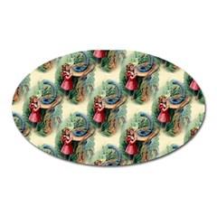 Alice In Wonderland Magnet (Oval)