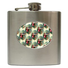 Alice In Wonderland Hip Flask