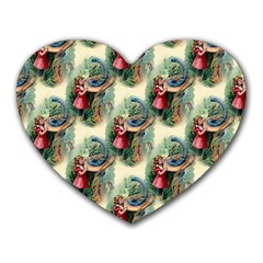 Alice In Wonderland Mouse Pad (Heart)