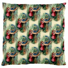Alice In Wonderland Large Cushion Case (Two Sides)