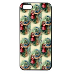 Alice In Wonderland Apple iPhone 5 Seamless Case (Black)