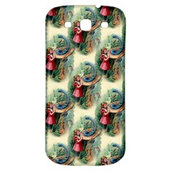 Alice In Wonderland Samsung Galaxy S3 S III Classic Hardshell Back Case