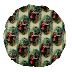Alice In Wonderland 18  Premium Round Cushion