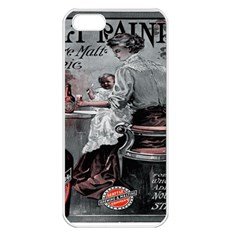 For Mothers Who Require Additional Nourishment And Strength Apple iPhone 5 Seamless Case (White)