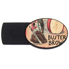 Buster Brown 2GB USB Flash Drive (Oval)