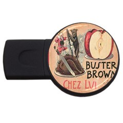 Buster Brown 4GB USB Flash Drive (Round)