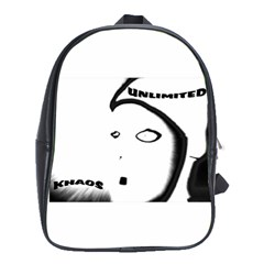 Khaosface5 School Bag (xl)