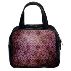Vintage Wallpaper Classic Handbag (Two Sides)