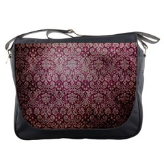 Vintage Wallpaper Messenger Bag