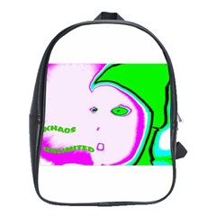 Khaosface2 School Bag (xl)